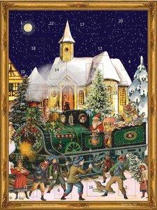 """Adventskalender \""""Weihnachtszug\"""""""