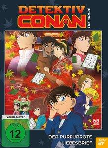 Detektiv Conan - 21. Film: Der purpurrote Liebesbrief - DVD (Lim
