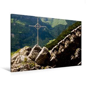 Premium Textil-Leinwand 120 cm x 80 cm quer Furchtlos