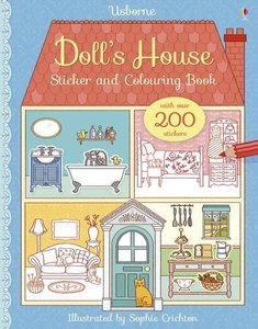 Doll\'s House Sticker and Colouring Book
