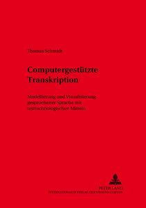 Computergestützte Transkription