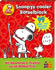 Snoopys cooler Rätselblock