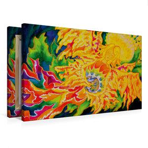 Premium Textil-Leinwand 75 cm x 50 cm quer Friede sei mit euch