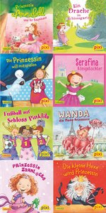 Pixi-Bundle 8er Serie 224: Pixis Prinzessinnen-Parade