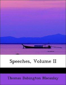 Speeches, Volume II