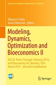 Modeling, Dynamics, Optimization and Bioeconomics II