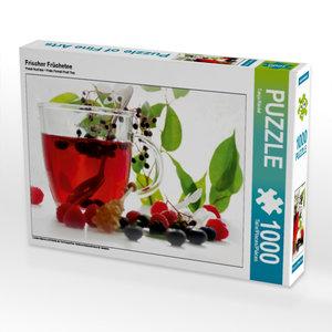 Frischer Früchetee 1000 Teile Puzzle quer