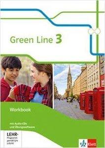 Green Line. 7. Schuljahr. Workbook mit Audio-CDs und Übungssoftw