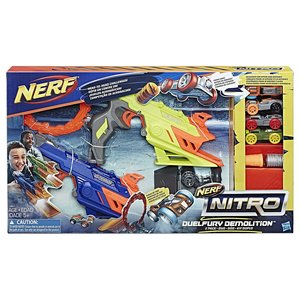 Hasbro C0817EU4 Nerf Nitro Duelfury Demolition