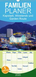 Kapstadt, Winelands und Garden Route - Familienplaner hoch (Wand