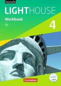English G LIGHTHOUSE 04: 8. Schuljahr. Workbook mit Audio-CD