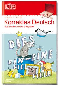 LÜK. Korrektes Deutsch - 1. Klasse