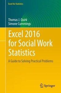 Excel 2016 for Social Work Statistics