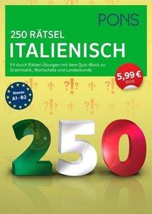 PONS 250 Rätsel Italienisch