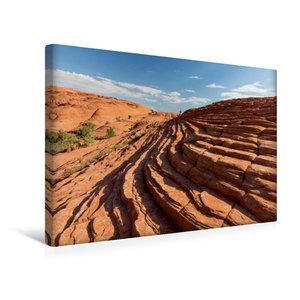 Premium Textil-Leinwand 45 cm x 30 cm quer Snow Canyon, UT