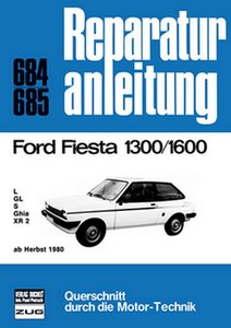 Ford Fiesta 1300/1600 ab Herbst 1980