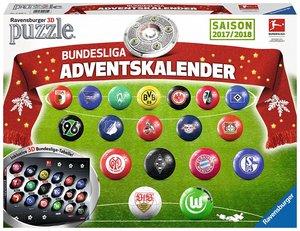 Ravensburger 11695 - Bundesliga Adventskalender Saison 2017/2018