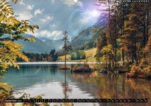 Türkisblaue Seen (Wandkalender 2020 DIN A2 quer)
