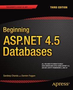Beginning ASP.NET 4.5 Databases