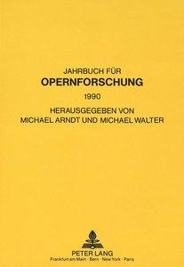 Jahrbuch für Opernforschung 1990