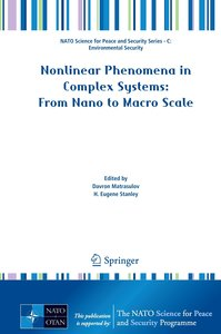 Nonlinear Phenomena in Complex Systems: From Nano to Macro Scale