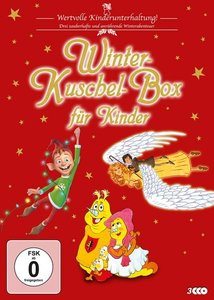 Winter-Kuschel-Box für Kinder, 3 DVD