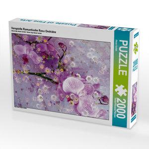 CALVENDO Puzzle Verspielte Romantische Rosa Orchidee 2000 Teile