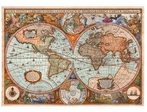 Antike Weltkarte (Puzzle)