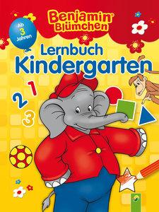 Benjamin Blümchen Lernbuch Kindergarten