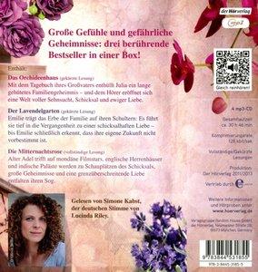 Die große Box: Das Orchideenhaus - Der Lavendelgarten - Die Mitt