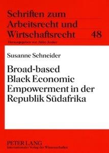 Broad-based Black Economic Empowerment in der Republik Südafrika