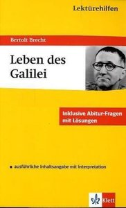 """Bertolt Brecht """"Leben des Galilei"""""""