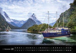 360° Neuseeland Kalender 2020