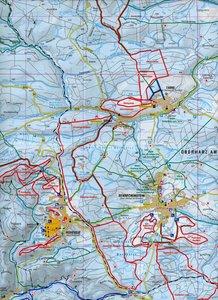 Wintersportkarte Harz 1 : 35 000