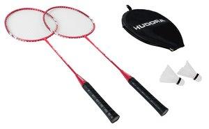 HUDORA 76415 - Badminton-Set No Limit HD-22, inklusive Tragetas