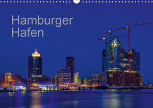 Hafen Hamburg (Wandkalender 2019 DIN A3 quer)