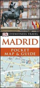 DK Eyewitness Travel Madrid Pocket Map and Guide
