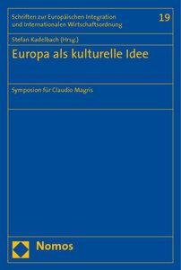 Europa als kulturelle Idee