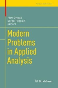 Modern Problems in Applied Analysis