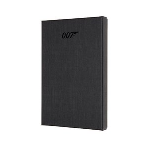 Moleskine Notizbuch - James Bond Large/A5, Hard Cover, Sammlerau