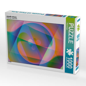 smooth colours 1000 Teile Puzzle quer