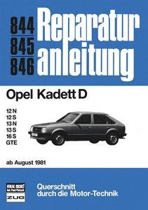 Opel Kadett D ab 8/81