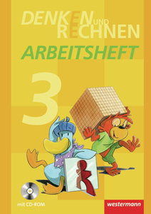 Denken und Rechnen 3. Arbeitsheft mit CD-ROM. Grundschule. Hambu