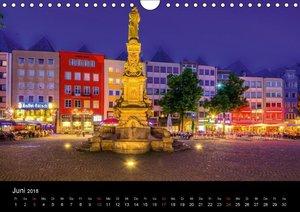 Köln Impressionen bei Nacht (Wandkalender 2018 DIN A4 quer)