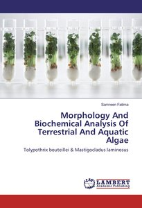 Morphology And Biochemical Analysis Of Terrestrial And Aquatic A