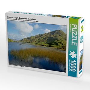 Kylemore Lough, Connemara, Co. Galway 1000 Teile Puzzle quer