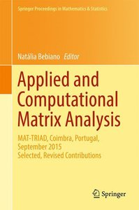 Applied and Computational Matrix Analysis