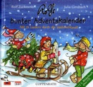 Rolfs bunter Adventskalender, mit Audio-CD