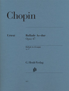 Ballade As-Dur op.47, Klavier