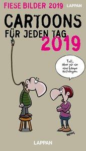 Fiese Bilder Tageskalender 2019